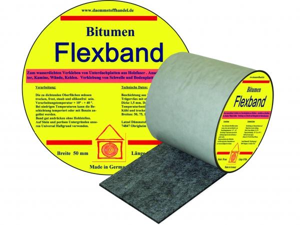 online shop latzel d mmstoffe bitumen flexband 300mm. Black Bedroom Furniture Sets. Home Design Ideas